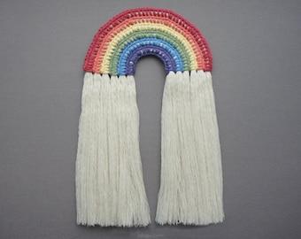 Rainbow Wall Hanging Crochet Pattern