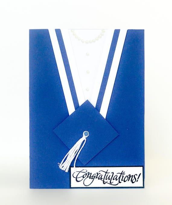 Graduation Card Handmade Graduation Card For Girls Custom Etsy