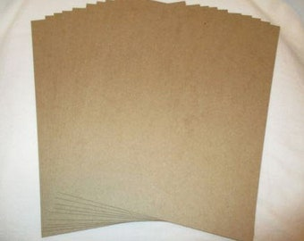 10 pcs THICK 50Pt Chipboard! Great for Book/Journal Covers!