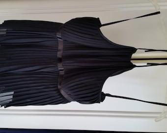 Saks Fifth Avenue Women's 100% Silk Halter Top - Size 8