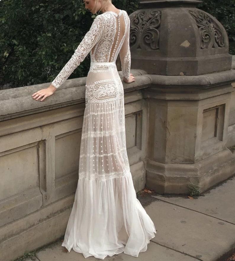 EPHORIA Calliste Bride wedding dress boho dress lace wedding image 0