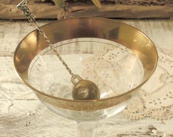 Vintage / Sterling / Mexican Silver Olive Fork / Pickle Fork