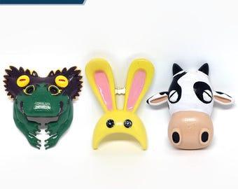 Legend of Zelda Majoras Animal Mask Set