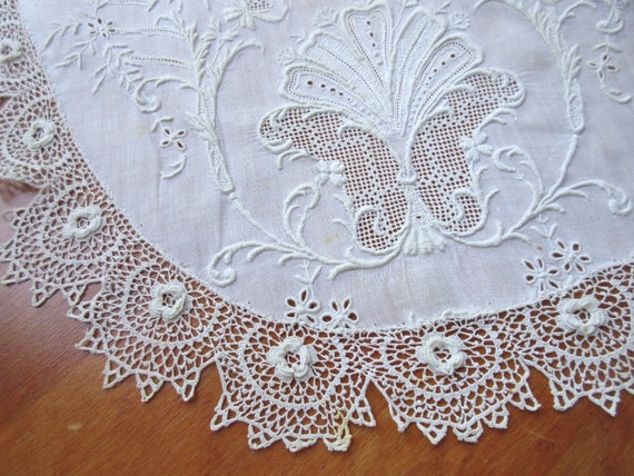 Antique  Collar  Vintage Collar Lace Collar Croch… - image 5