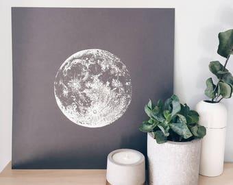 Silver Full Moon