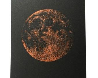 Copper Full Moon