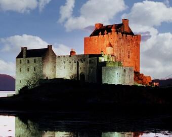 Eilean Donan Castle 40 , Eilean Donan Castle prints  , Scottish castle prints ,Scotland print ,  Scotland gifts, Scottish gifts