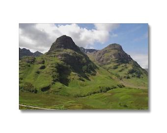 Glencoe 64 , the Highlands of Scotland Canvas , Glencoe  Canvas