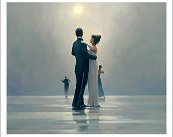 Two Jack Vettriano prints ,SPECIAL OFFER , Dance me to the End of Love Giant Print ,  two Jack Vettriano Wall Art Prints , Birthday Gifts