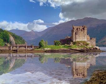 Scotland print , Eilean Donan Castle 37 Photo Art Print , Scotland gifts, Wall Art Prints, Scotland gifts