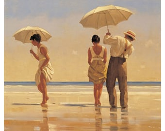 Jack Vettriano Mad Dogs ... ,Framed and Unframed Print, Jack Vettriano prints , wall art prints, Jack Vettriano prints,  Photogold