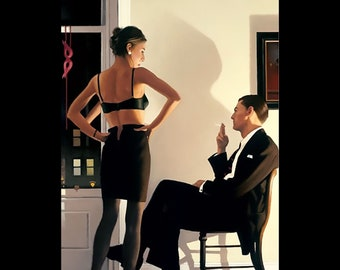 Jack Vettriano prints , Night in the City by Jack Vettriano , Vettriano prints , art deco, Jack Vettriano prints from Photogold
