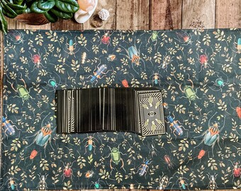 """Linen Altar Cloth """"Crawl"""" 
