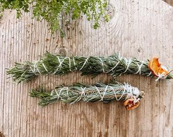 Silver Fir Bundle for burning and cleansing | witchcraft alter spell work