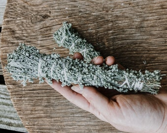 Prairie Sagewort Bundle for burning and cleansing | witchcraft alter spell work