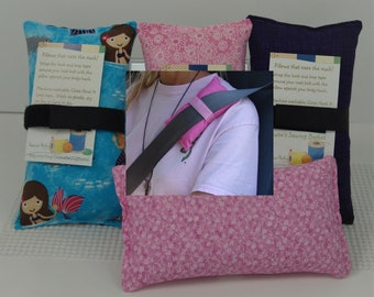 Seatbelt pillows Cushions for post