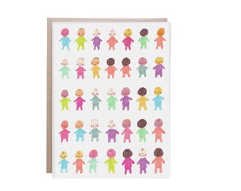 Baby Stationery, Baby Card