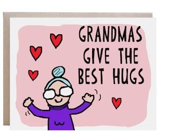 Grandma Card, Mother's Day Card, Grandmother Card, Card for Mom, Card for Grandma