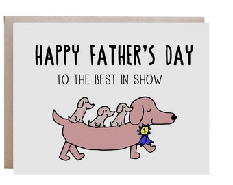 Fathers Day, Dog Dad Card