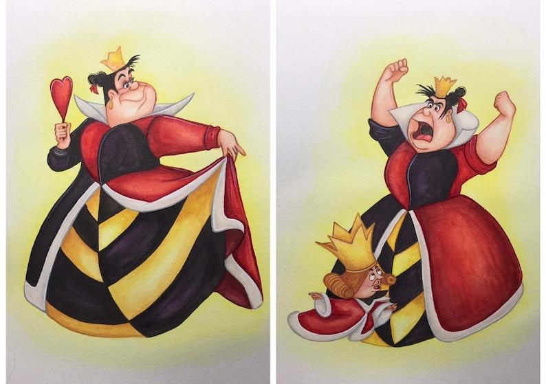 Disneys Alice in Wonderland  Villain Queen of Hearts  image 0