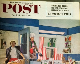 The Saturday Evening Post Magazine, April 18, 1953