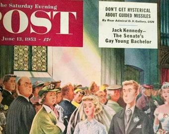 The Saturday Evening Post Magazine June 13, 1953