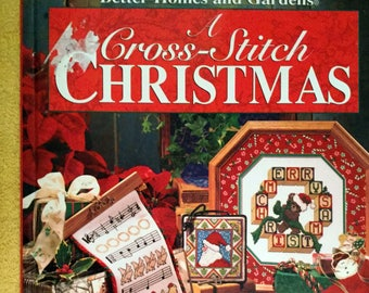 Better Homes and Gardens Cross Stitch Christmas 1995