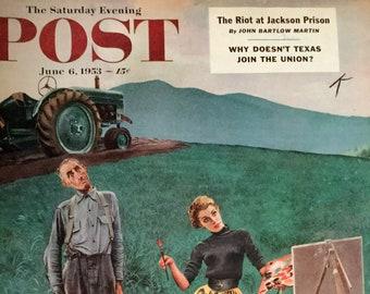 The Saturday Evening Post Magazine June 6, 1953