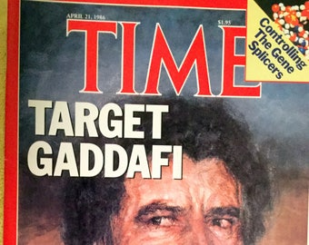 Time magazine, April 21, 1986