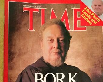 Time magazine, September 21, 1987