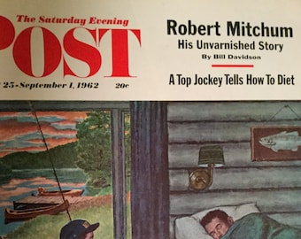 Vintage Saturday Evening Post Magazine August 25-September 1, 1962