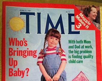 Time Magazine, June 22, 1987