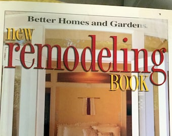 Vintage Better Homes and Gardens Remodeling book, 1998