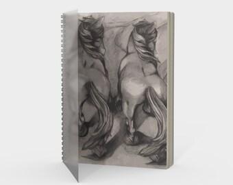 Horses Spiral Notebook