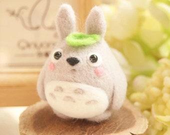 Totoro Needle Felting DIY Kit