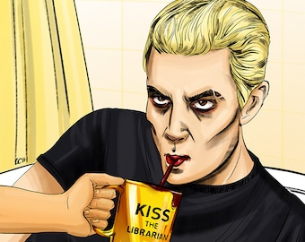 Spike / Kiss the Librarian / BTVS / Buffy / Vampire / William The Bloody