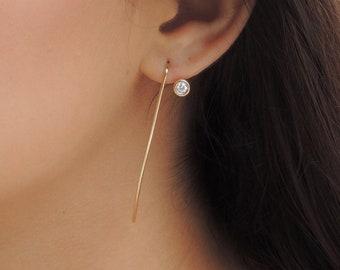 Floret Diamond Earrings