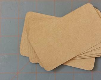 Kraft Shop Enclosure Cards