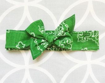 Bowdana Wrap (Sassy Shamrock)
