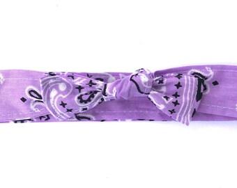 Bowdana Knot- Little Lady Lavender