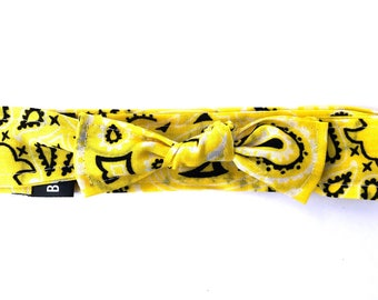 Bowdana Knot- Loopty Lou Lemon