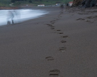 Ghosts on a Beach - Marin County, CA - 16x20