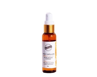 African Wild Honey'' Hair Leave-in Spray. Fortifying Leave-in Conditioner for dry or damaged hair -  60ml