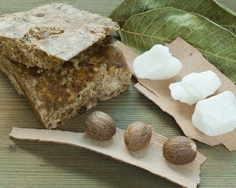Raw African Black Soap - 100% Natural and Vegetal