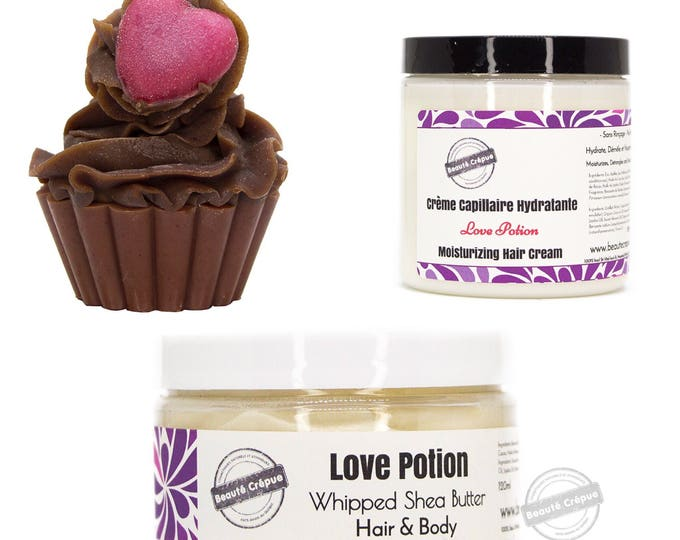 Hair care - moisturizing and nourishing - gift box, Love Potion gift set