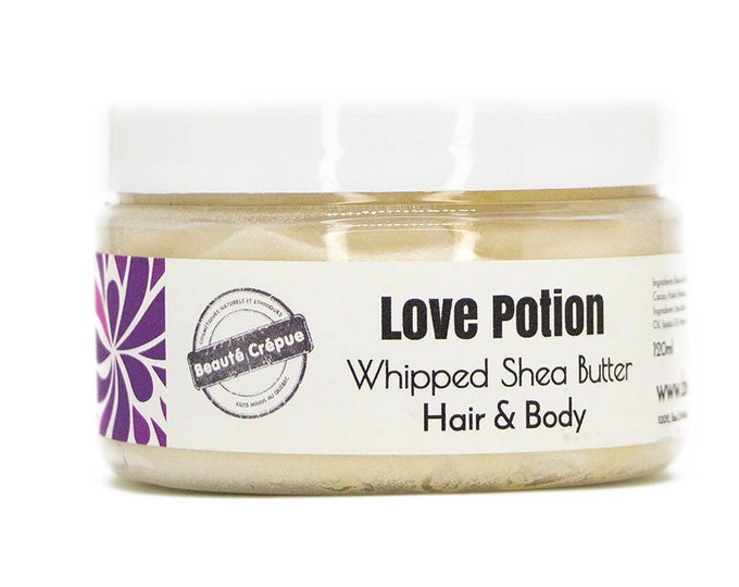 Love Potion Whipped Shea Butter - Hair and Body Butter