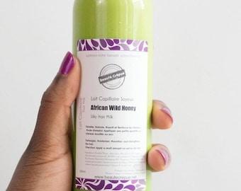 BLACK FRODAY SALE Silky Hair Milk ''African Wild Honey'' - 100ml   Travel Size