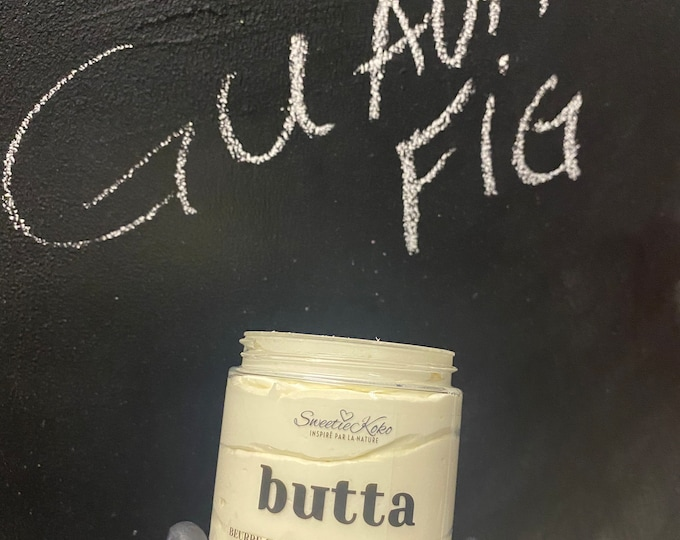 Guava Fig Butta, Whipped Butter, Body and Hair