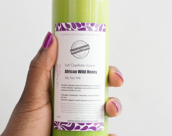 Silky Hair Milk African Wild Honey - 250ml