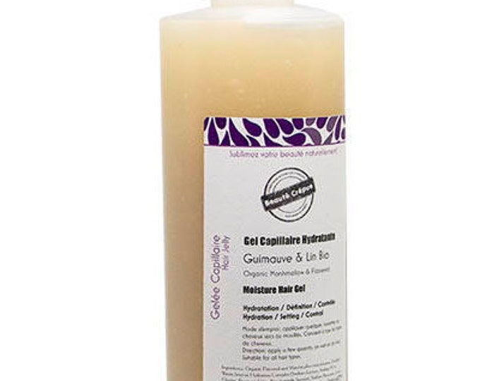 Organic Marshmallow roots & Flaxseed Extracts Hair Moisturizer Gel - 250ml